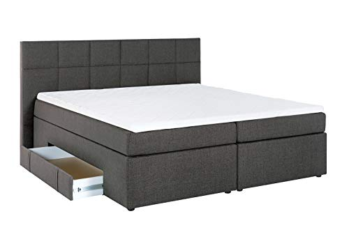 boxspringbett mit bettkasten 160x200 g nstig online kaufen. Black Bedroom Furniture Sets. Home Design Ideas