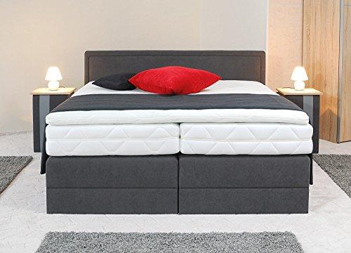 boxspringbetten nach material finden viele angebote in der bersicht. Black Bedroom Furniture Sets. Home Design Ideas