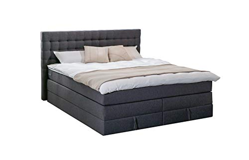boxspringbett mit bettkasten 180x200 g nstig online kaufen. Black Bedroom Furniture Sets. Home Design Ideas