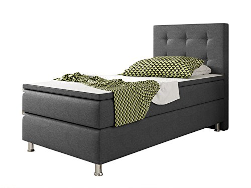 boxspringbetten 90x200 g nstig online kaufen viele angebote in der bersicht. Black Bedroom Furniture Sets. Home Design Ideas